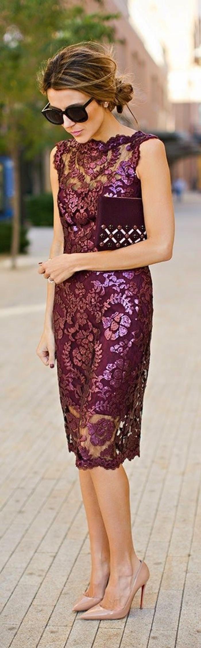 5-vestidos-de-fiesta-cortos-color-burdeo-encaje-fantástico