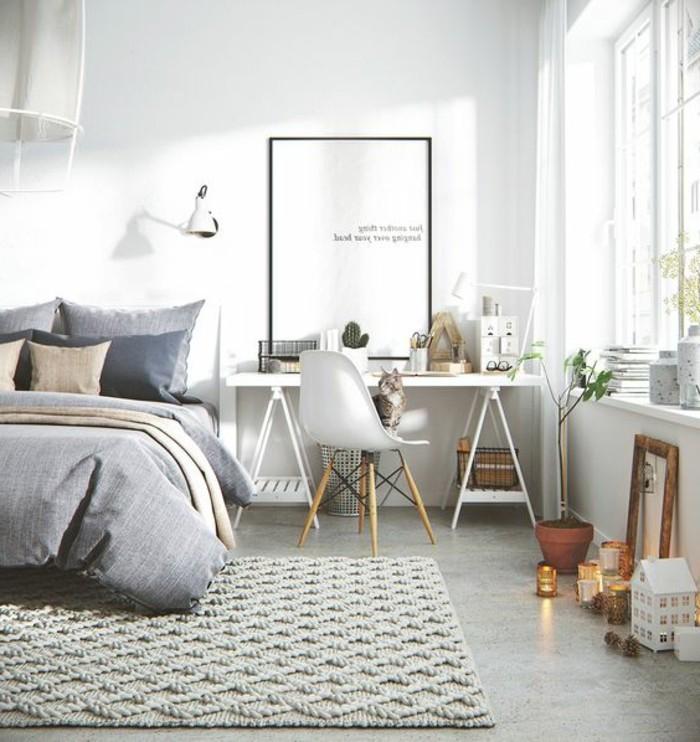 1001 ideas de muebles y casas en estilo escandinavo fotos for Alfombras estilo escandinavo