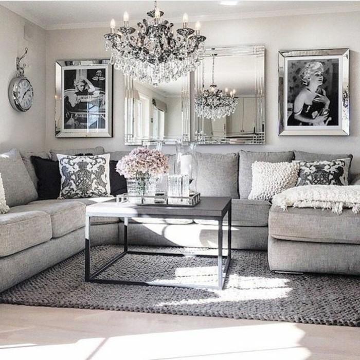 como-decorar-un-salon-elegante-refinado-gris-y-negro
