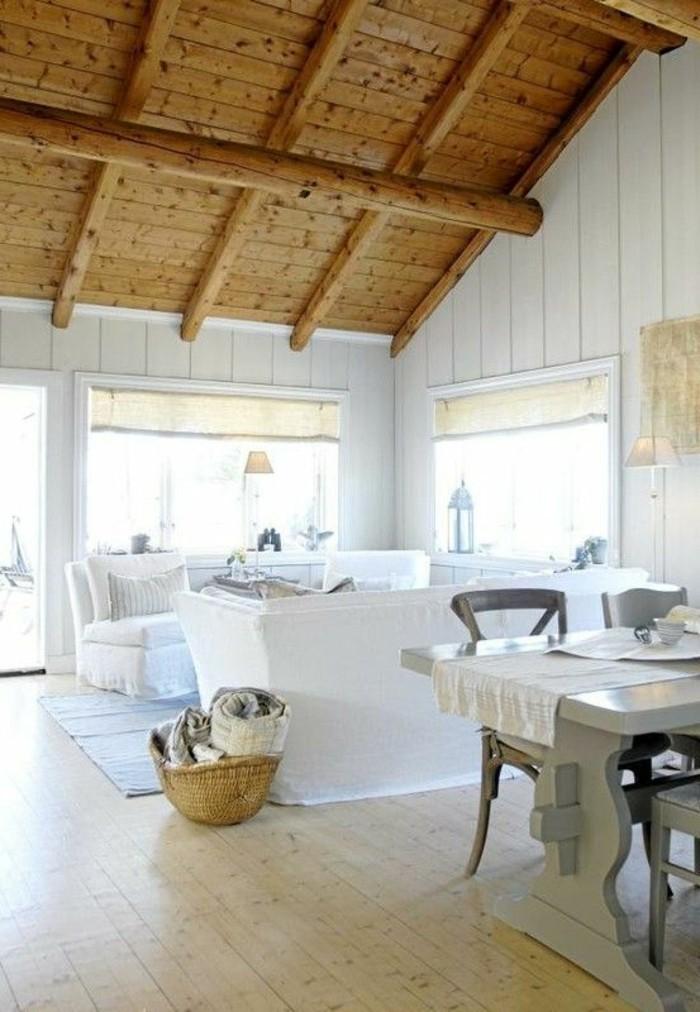 como-decorar-un-salon-tonos-naturales-con-madera