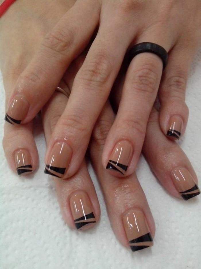 como-hacer-uñas-de-gel-decoración-simple-tonos-naturales