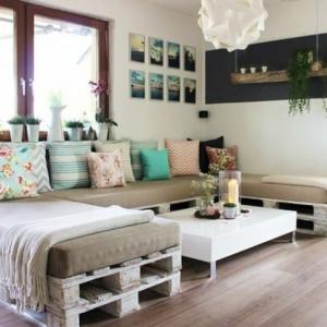 Ideas para hacer muebles con palets