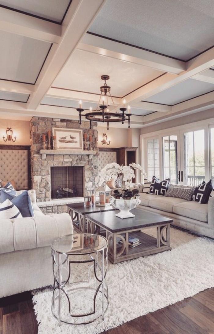 decoracion-de-salones-hogar-con-piedras