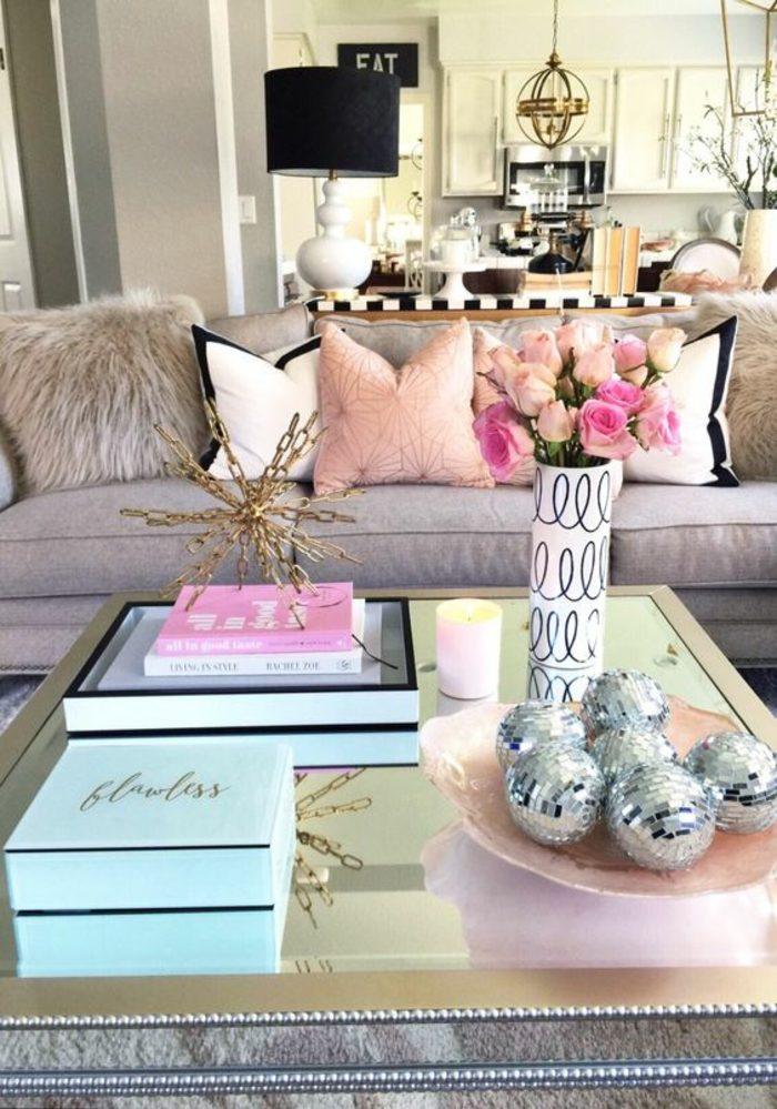 decorar-salon-ideas-interesantes-flores-estilo-elegante