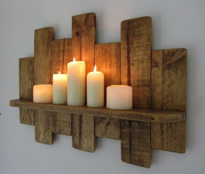 muebles-con-palets-decoración-de-la-pared-para-velas
