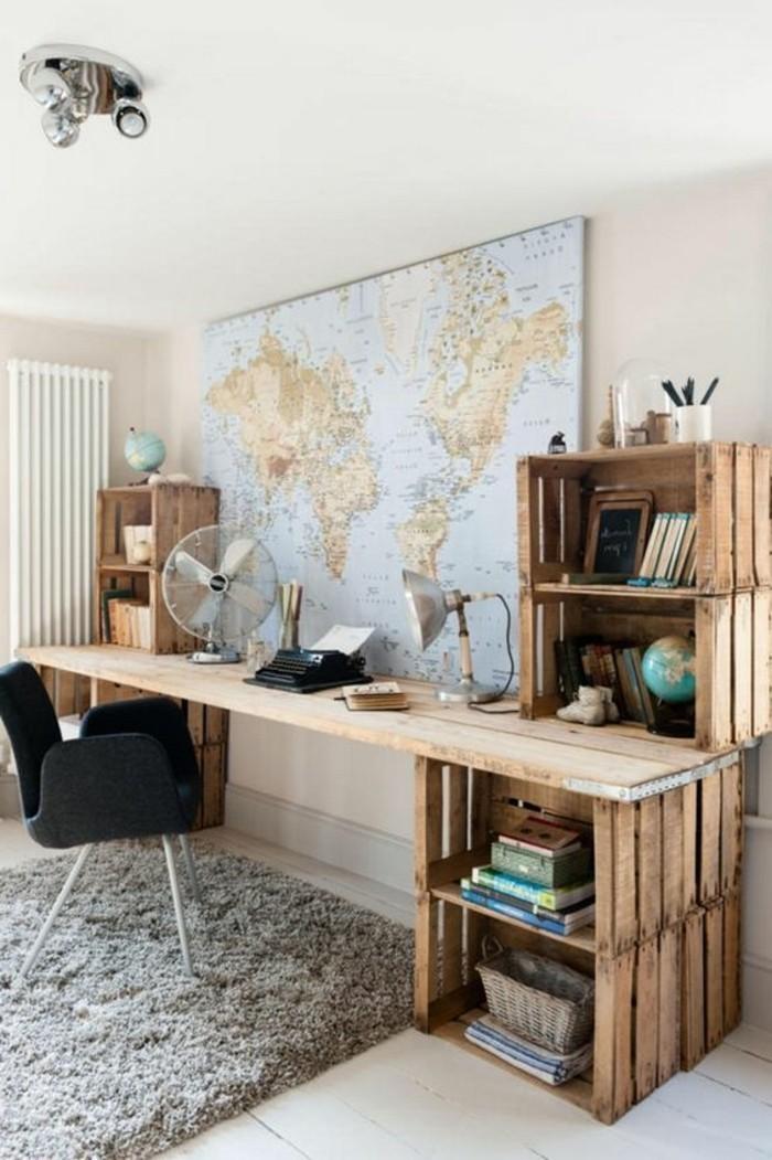 1001 ideas para hacer muebles con palets f ciles - Mobiliario con palets ...