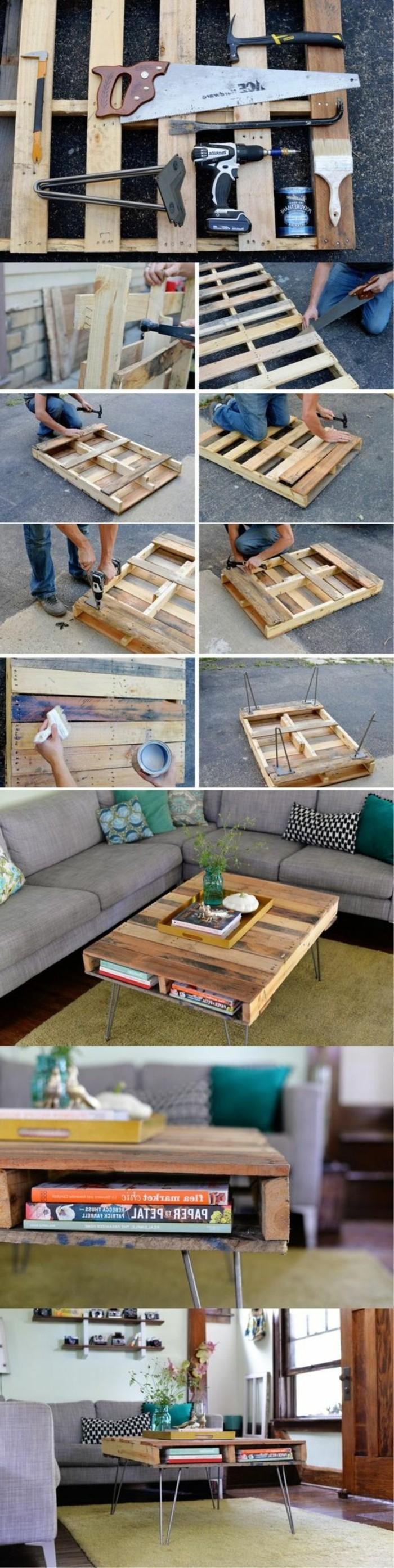 muebles-con-palets-mesita-baja-decoración