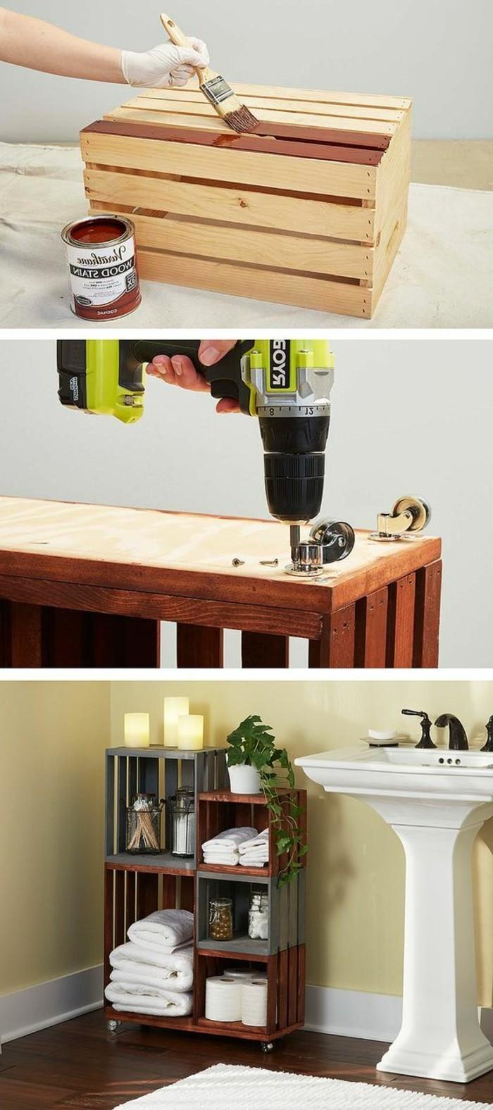 muebles-con-palets-para-el-baño-decoración-interesante
