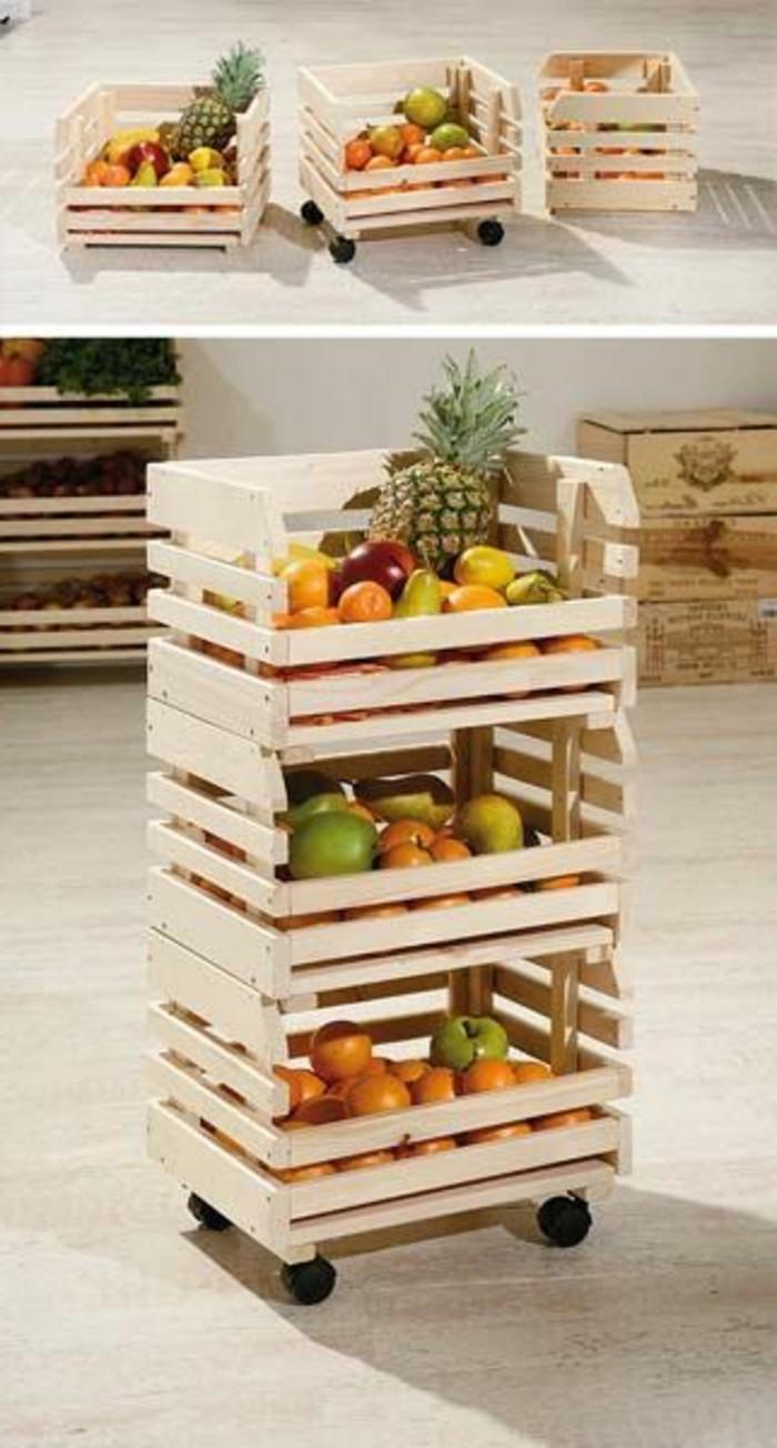 1001 ideas para hacer muebles con palets f ciles - Muebles para frutas ...