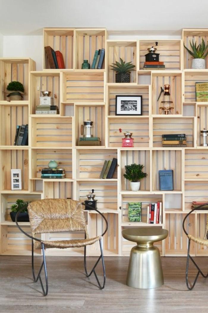 1001 ideas para hacer muebles con palets f ciles - Decorar paredes con palets ...