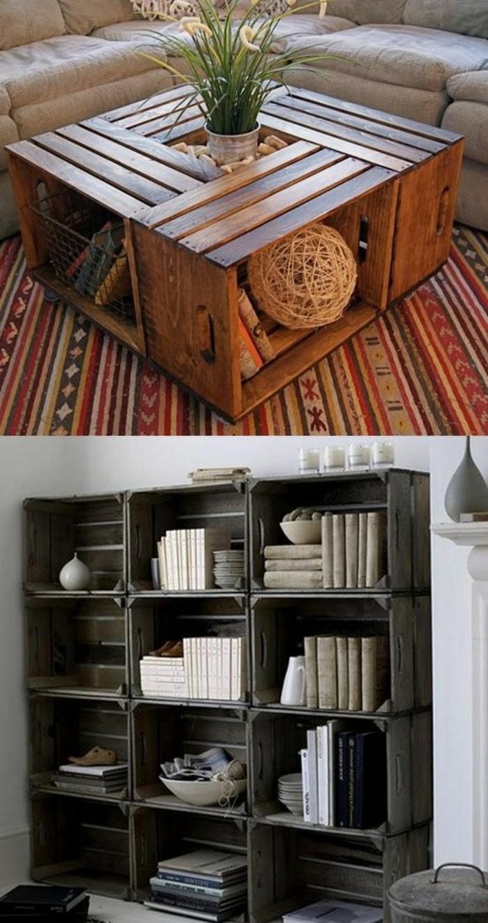 muebles-con-palets-sección-de-pared-mesita-decoración