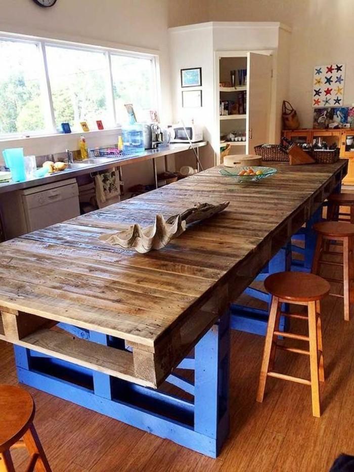 muebles-de-palets-larga-mesa-de-comer
