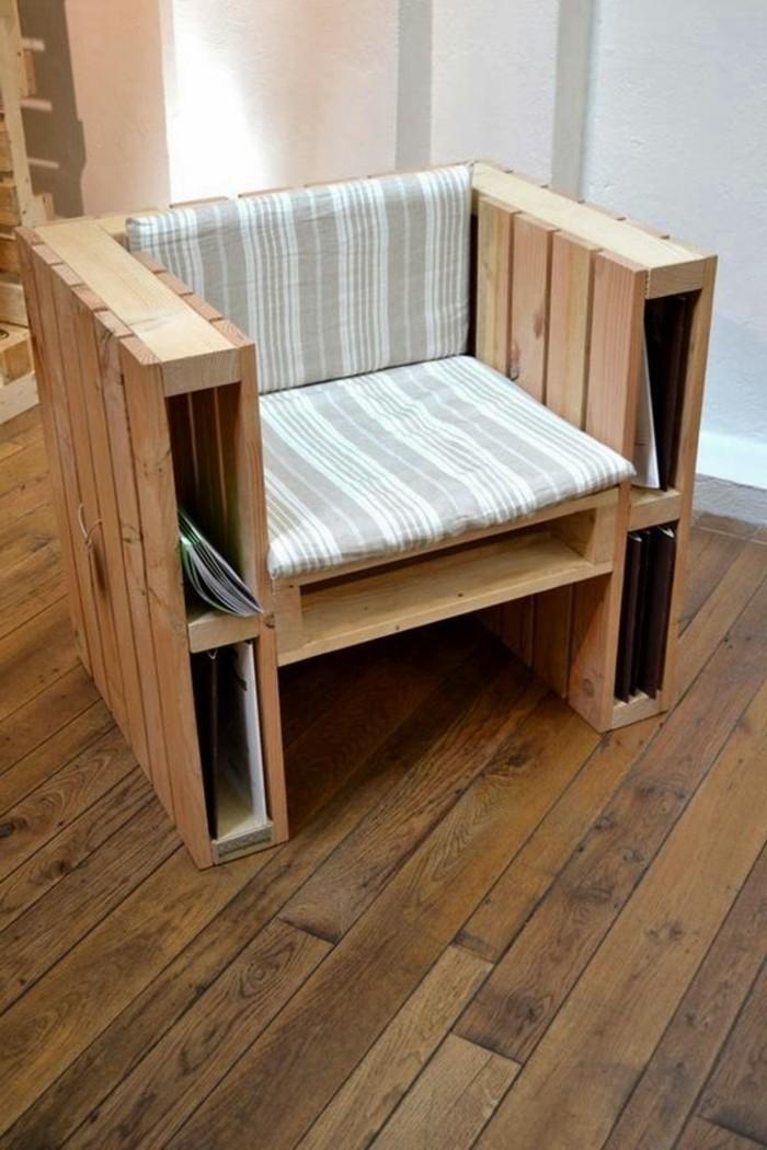muebles-de-palets-sillón-de-palets-natural-cómodo