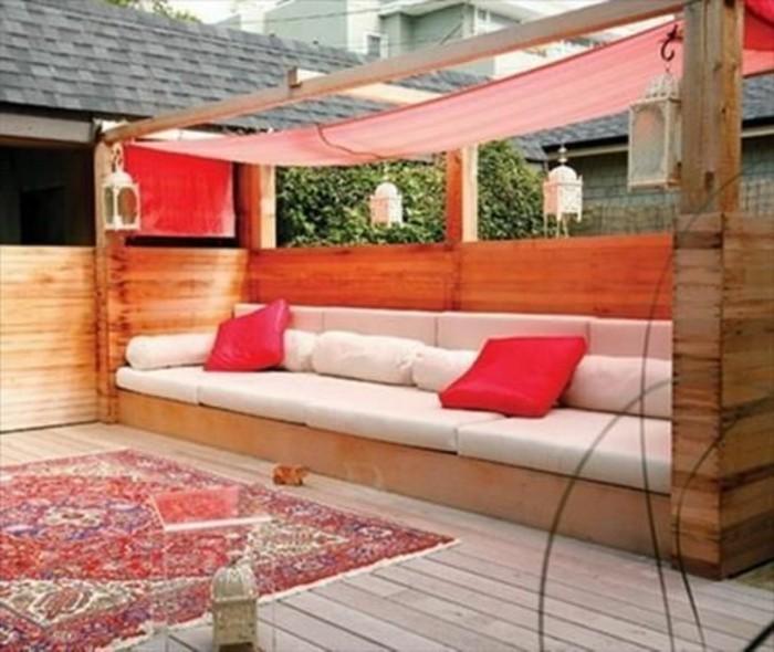 muebles-de-palets-sofá-para-el-jardín
