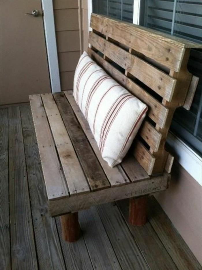 Muebles hecho con palet trendy sillones y muebles hechos - Muebles hechos con estibas ...