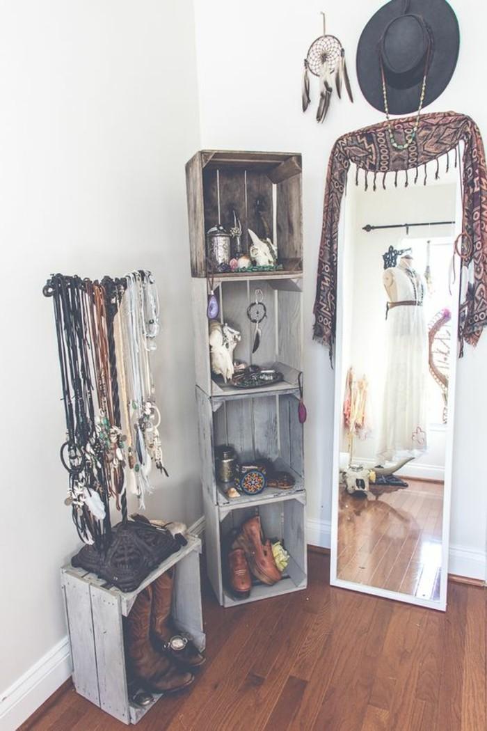 muebles-reciclados-decoración-dormitorio-artístico