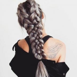 Algunas ideas de peinados con trenzas