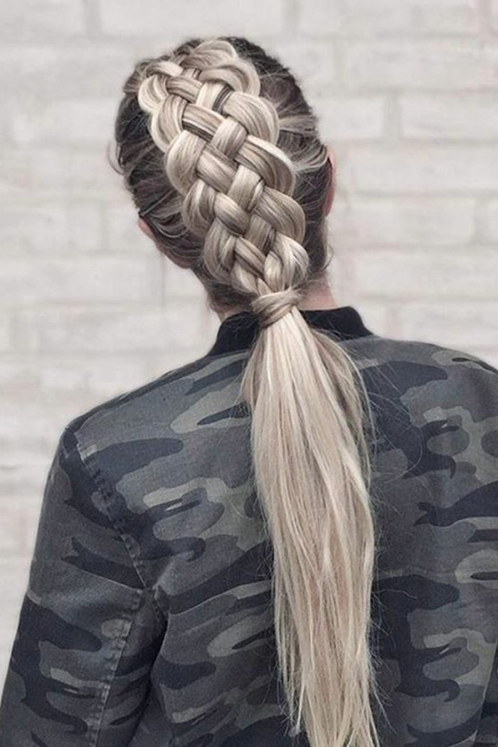 peinados-con-trenzas-pelo-largo-trenza-con-cuatro-mechones