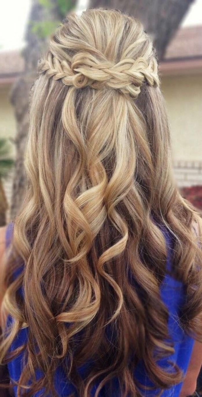 1001 Ideas De Peinados Con Trenzas Faciles Y Rapidos - Peinado-suelto-con-trenzas
