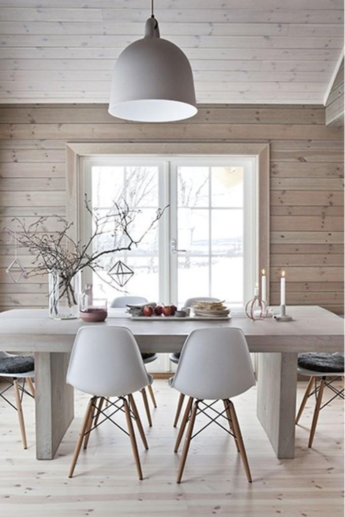 1001 ideas de muebles y casas en estilo escandinavo fotos for Sala de estar madera