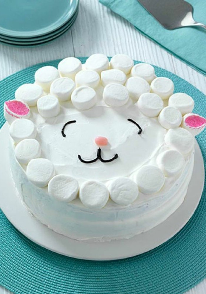 tartas-faciles-marshmellow-tarta-tarta-para-niños