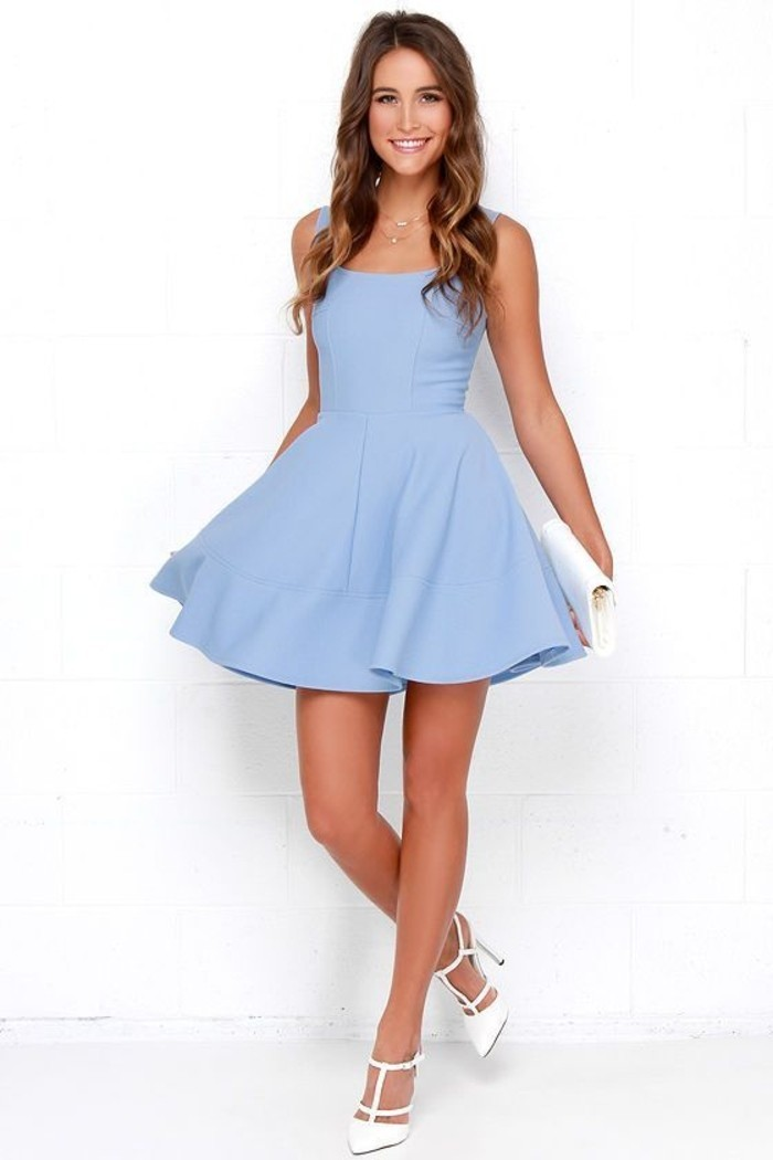 vestidos-coctel-corto-azul-elegante