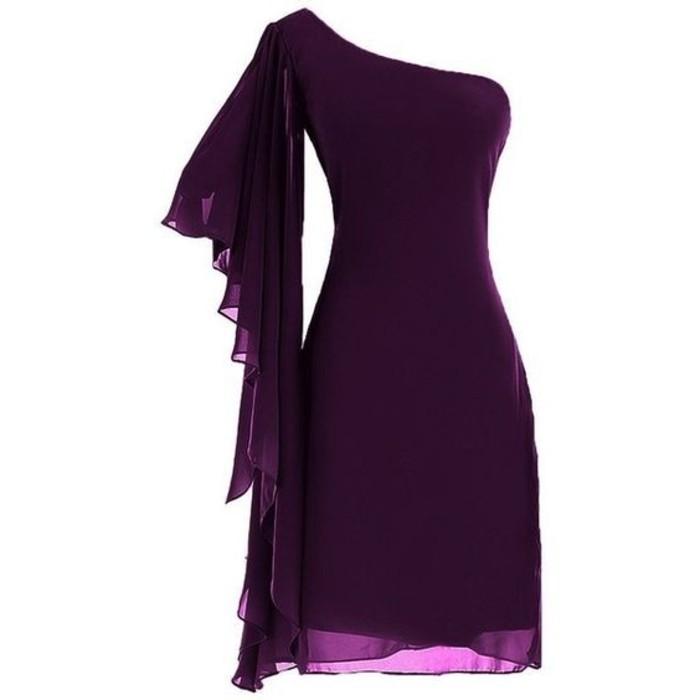 vestidos-coctel-corto-color-violeta-hombro-desnudo