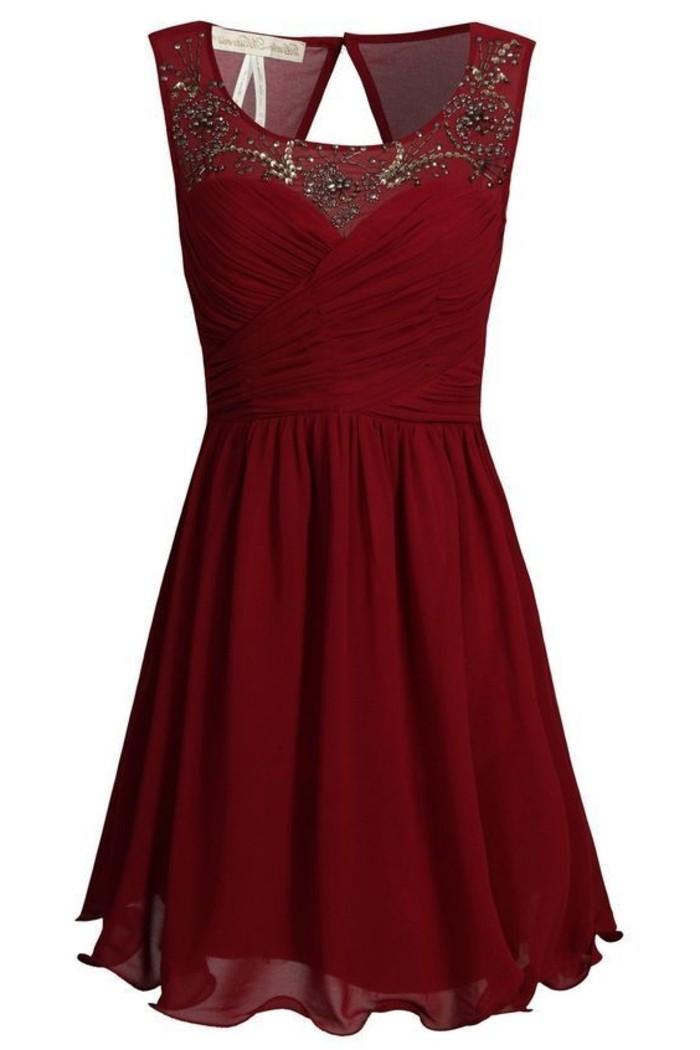 vestidos-de-noche-color-burdeos-lentejuelas-plisado