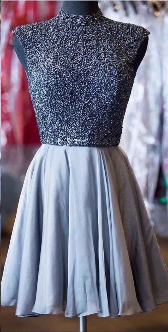 vestidos-de-noche-corto-azul-bordado-muy-elegante