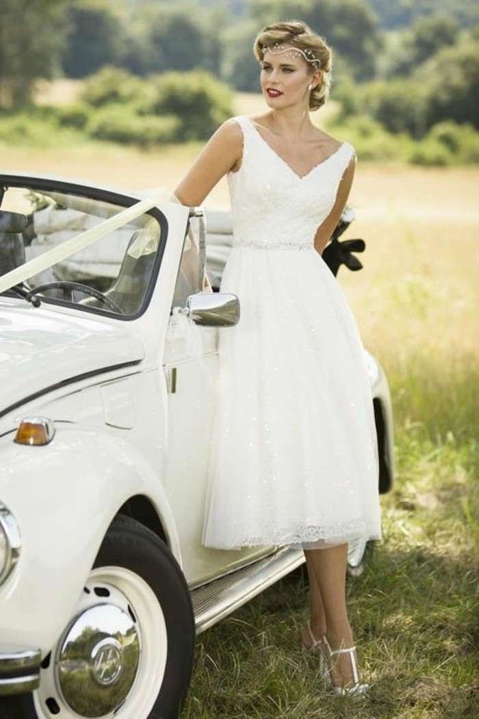 vestidos-de-novia-cortos-vintage-de-los-años-50