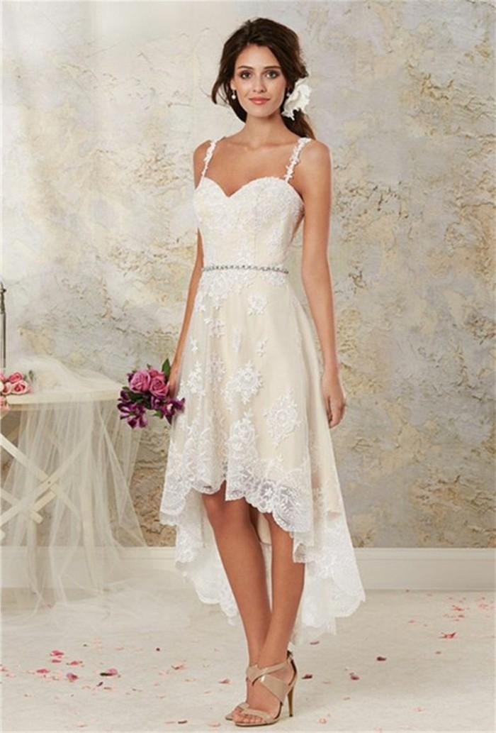vestidos-de-novia-sencillos-muy-romántico-y-simple