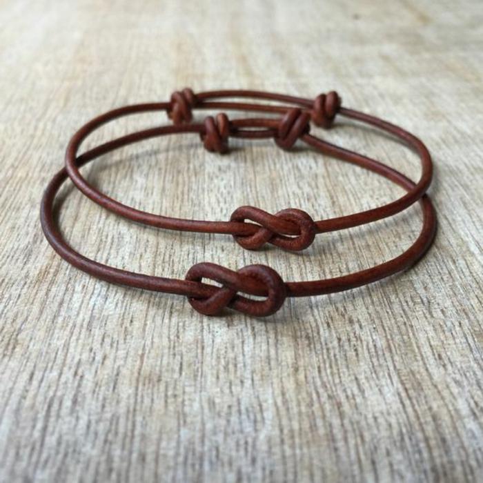 07-pulseras-de-moda-de-cuero-marrón-símbolo-de-infinito-pulsera-simple