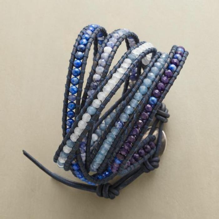 cómo-hacer-pulseras-de-cuero-y-piedras-preciosas-tonos-azules-juvenil