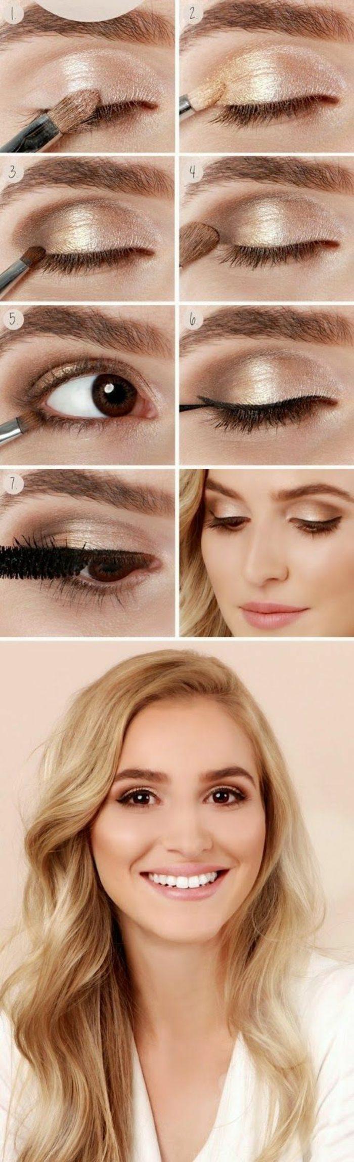 como-maquillarse-los-ojos-en-tonos-naturales-con-poco-purpurina-ojos-marrones