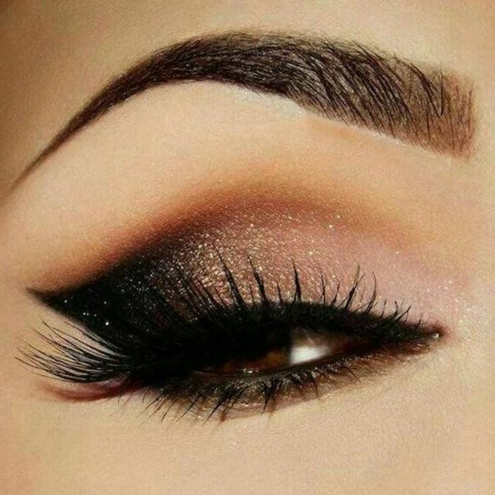 1001 ideas de maquillarse los ojos ahumados m s instrucciones for Sombras de ojos para ojos marrones