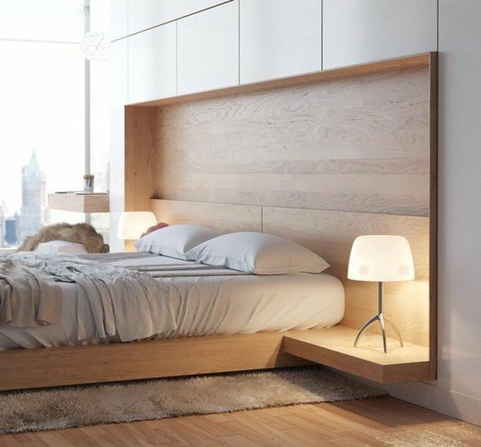 dormitorios-matrimonio-cama-de-madera-colores-naturales-suelo-de-madera
