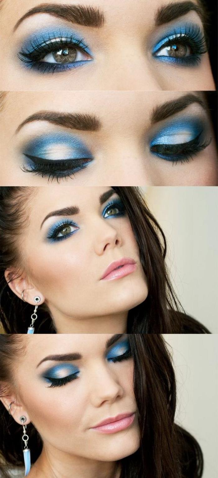 ojos-ahumados-bella-mujer-con-ojos-verdes-maquillaje-de-ojos-tono-azul