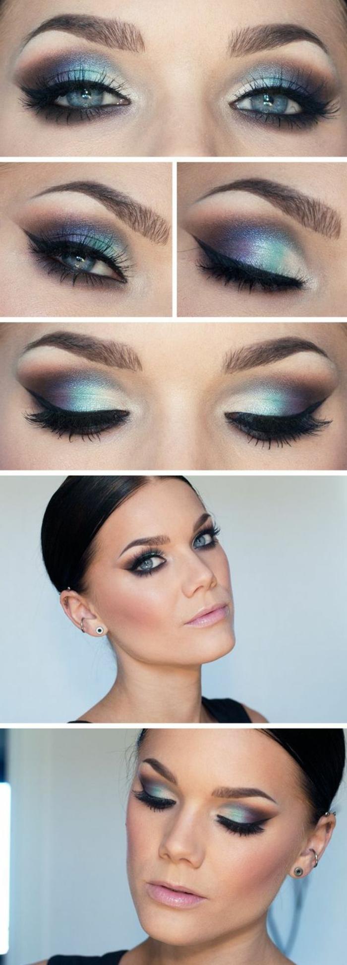 ojos-ahumados-linda-mujer-con-ojos-azules-maquillaje-tonos-azules-y-violeta