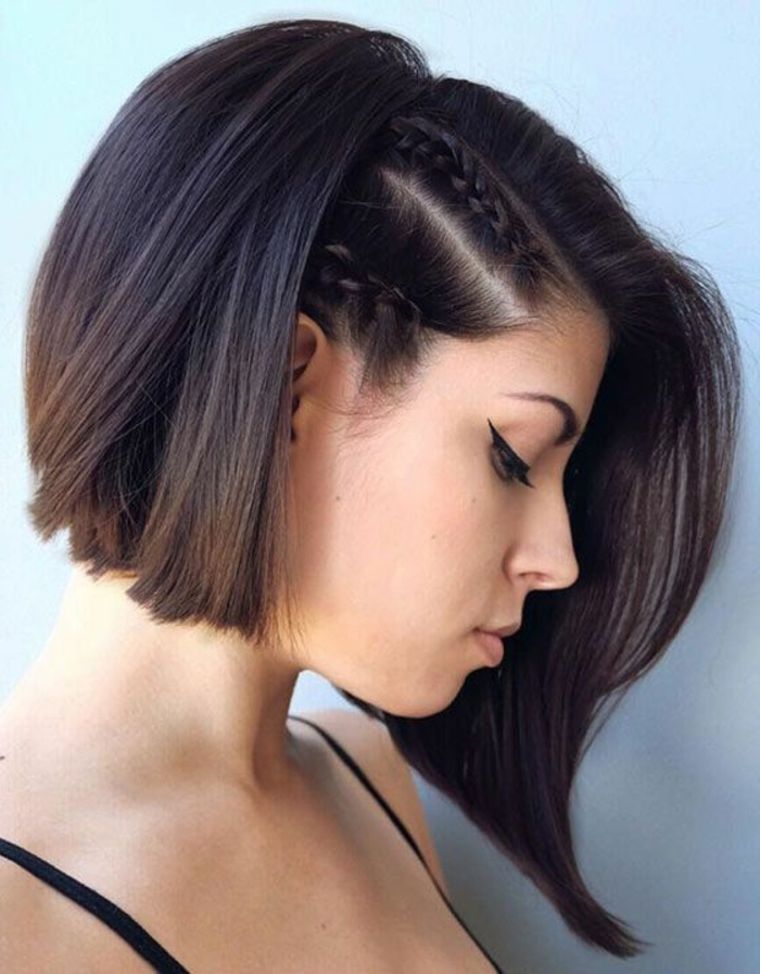 1001 ideas de peinados para pelo corto con fotos for Recogido bob