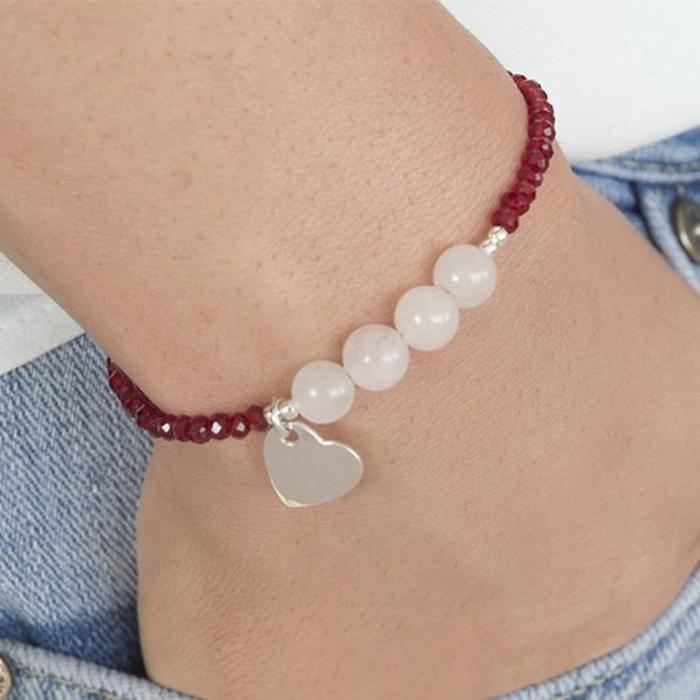 pulseras-de-plata-piedras-preciosas-quarzo-rosa-detalle-de-corazon