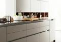 Decorar una cocina blanca y gris a la moda