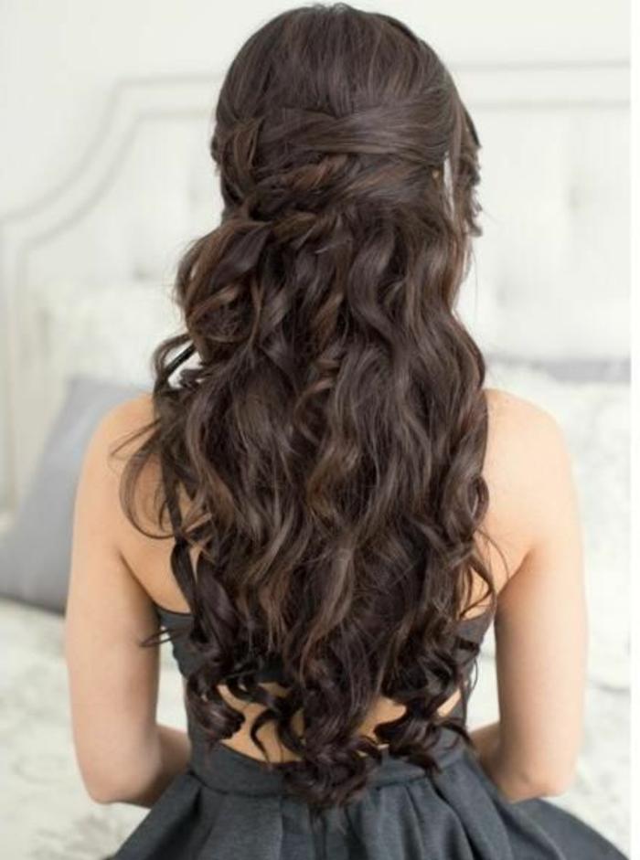 De moda peinados medio recogidos Fotos de los cortes de pelo de las tendencias - 1001+ ideas de peinados de fiesta atractivos y femeninos