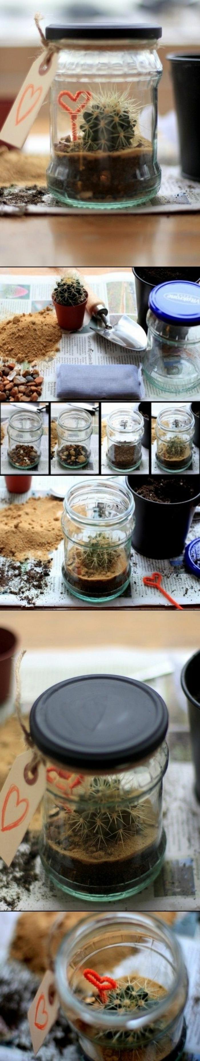 regalos-hechos-a-mano-cactus-en-tarro-fácil-de-hacer-idea-interesante
