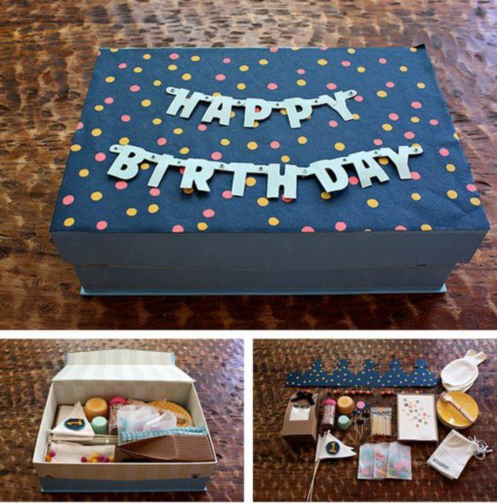 regalos-hechos-a-mano-caja-para-regalos-de-cumpleaños-azul-simple-e-interesante