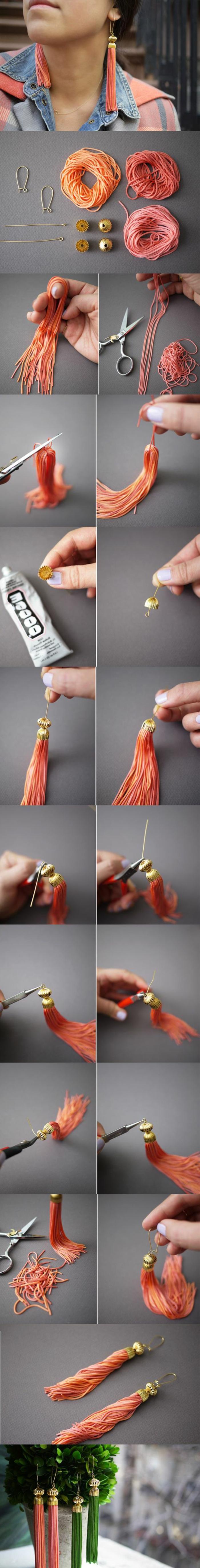 regalos-hechos-a-mano-pendientes-de-macrame-diferentes-colores