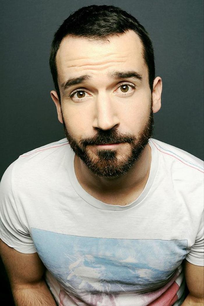 barbas-modernas-hombre-con-camiseta-blanca-barba-moderna-ojos-marrones-pelo-corto