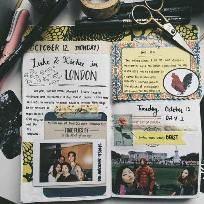 cuaderno-de-viaje-con-fotos-de-visita-en-londres-pegatines-de-color