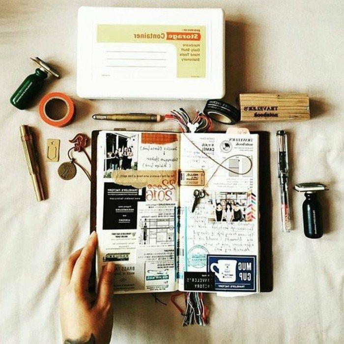 cuaderno-de-viajes-notas-importantes-pegatines-marcador-fotos-memorias