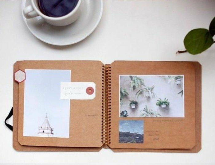 cuadernos-de-viaje-simple-fotos-artísticos-notas-café-memorias-de-diferentes-lugares