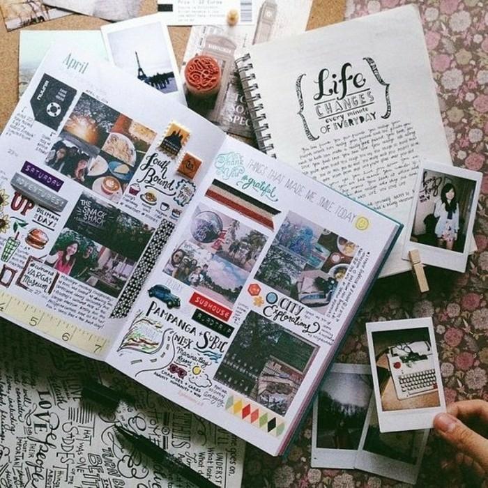 exploradores-cuadernos-de-viaje-con-muchos-fotos-diario-estampadas-doodling